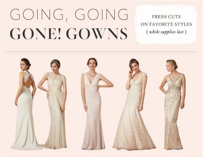 Sale at BHLDN on Wedding Dresses, Bridesmaid Dresses, and Mother ...