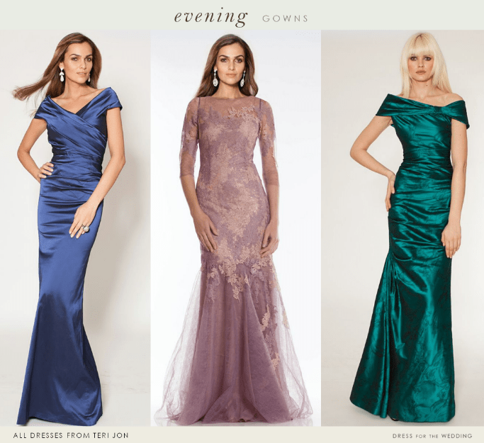 Elegant dresses for the mother of the bride and wedding guests for Dresses for afternoon wedding
