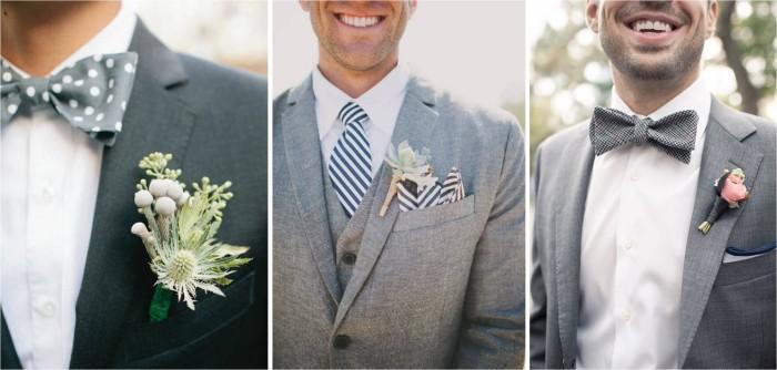 Gray ties for Weddings