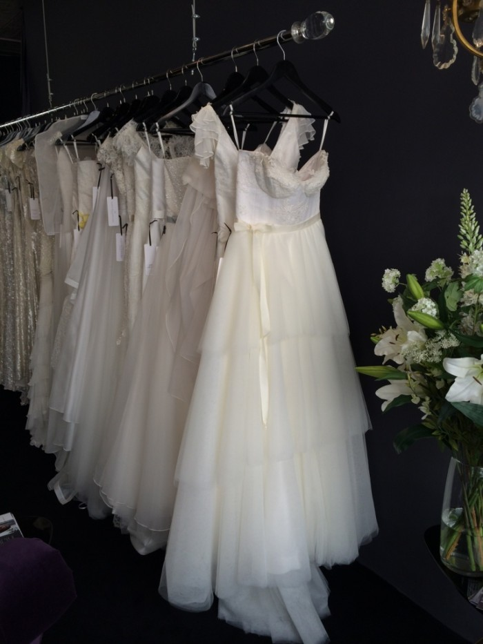 Karen Willis Holmes NYC Visit Wedding Dresses