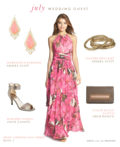 What to Wear to a July Wedding, Part 1: Maxi Dresses!