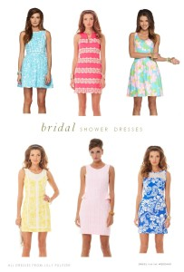 Preppy Dresses for a Bridal Shower