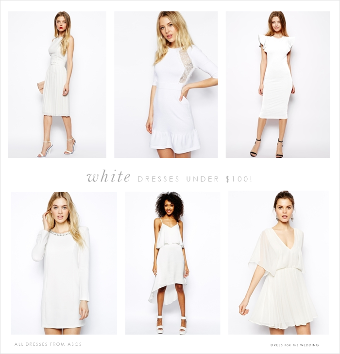White Plus Size Wedding Dresses Under $100 : White plus size wedding dresses under prom