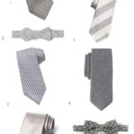 grey ties