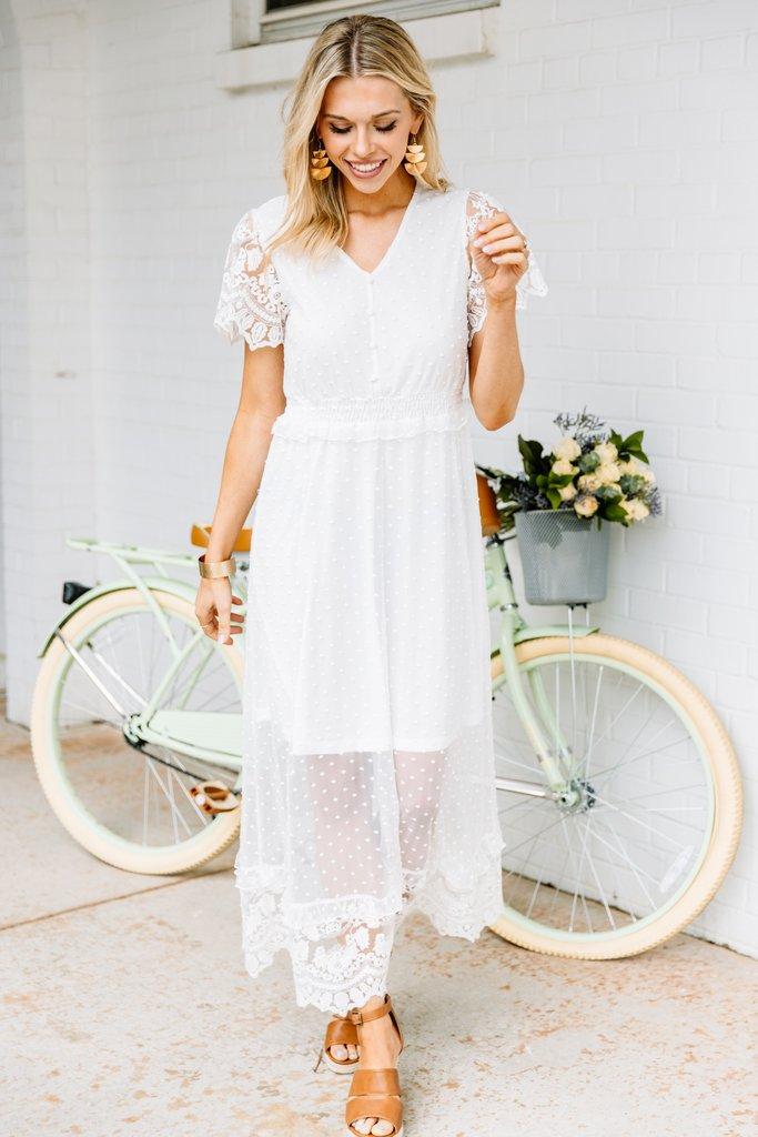 Pretty white dress under 100 for a bride