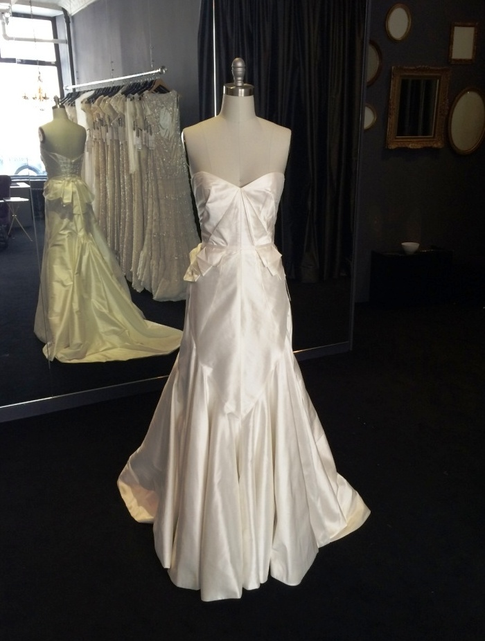 Alassandra shown without straps Karen Willis Holmes Wedding Dresses NYC