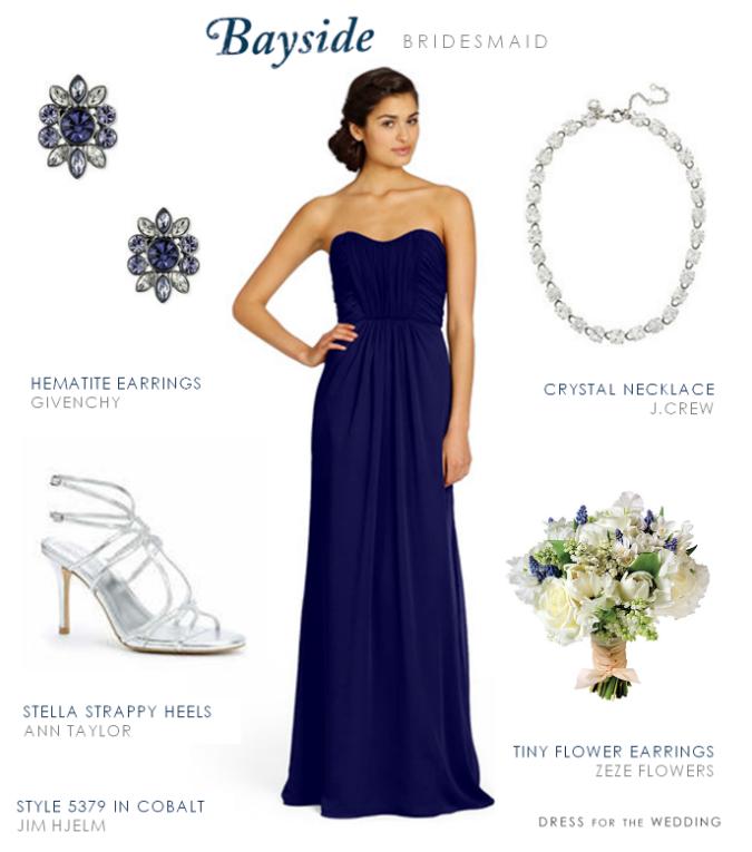 Bayside Bridesmaid in Blue