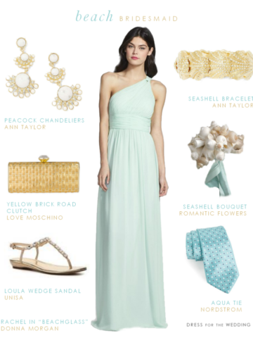 Beach Bridesmaid Dress