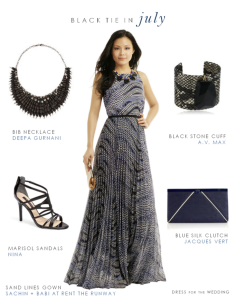 Black Tie Optional Dress