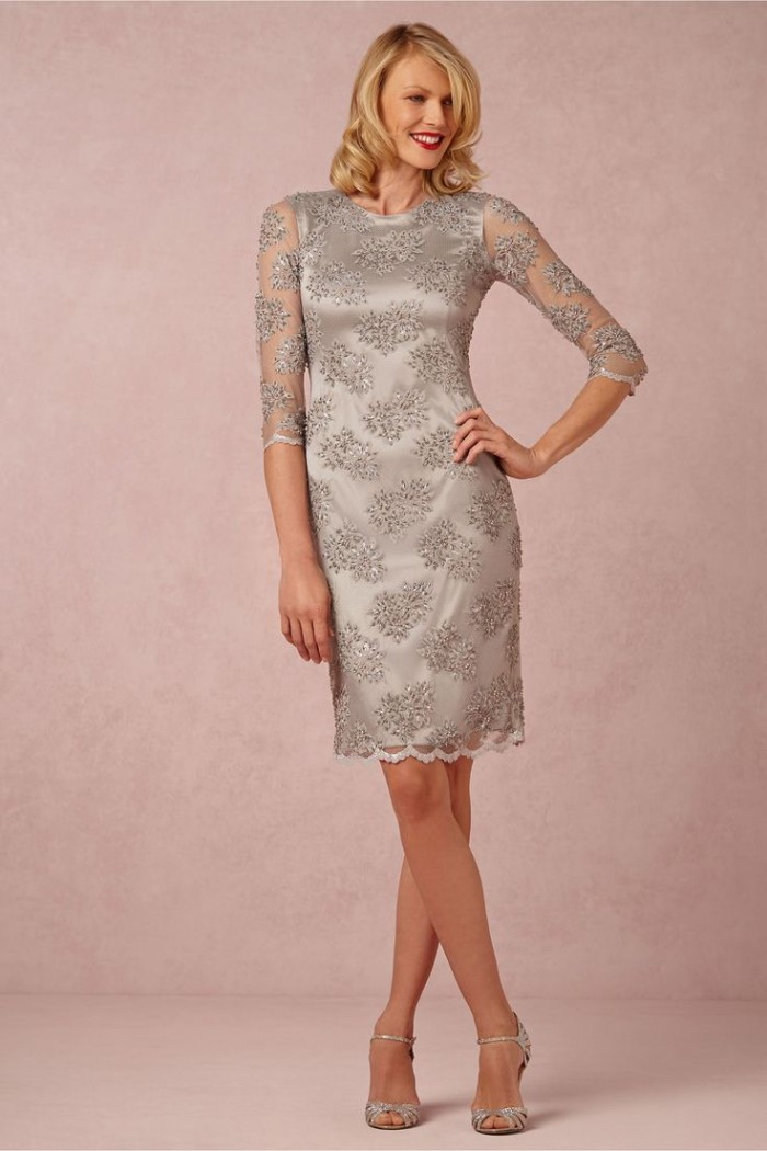 Fall Wedding Dresses For Mother Of The Bride Crystalline Dress for Mothers