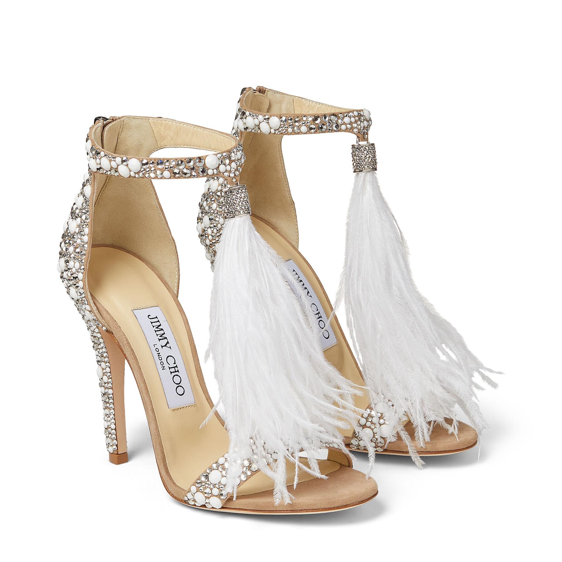 Jimmy Choo Wedding Shoes | Dress for