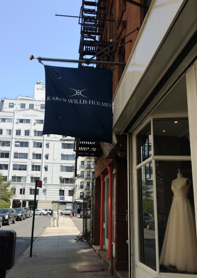 Karen Willis Holmes NYC Boutique Between Broome and Canal Streets