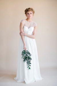 Flowy Wedding Dresses: darling by heidi elnora