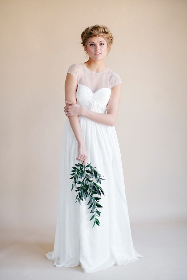 flowy wedding dresses darling by heidi elnora