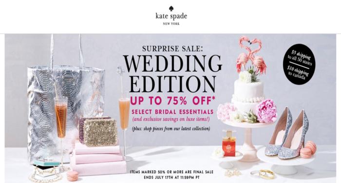 kate spade new york surprise sale!