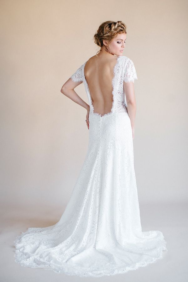 Low Back Flowy Wedding Dress : Flowy wedding dresses darling by heidi elnora