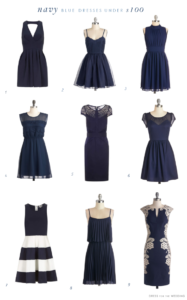 Navy Blue Dresses Under $100