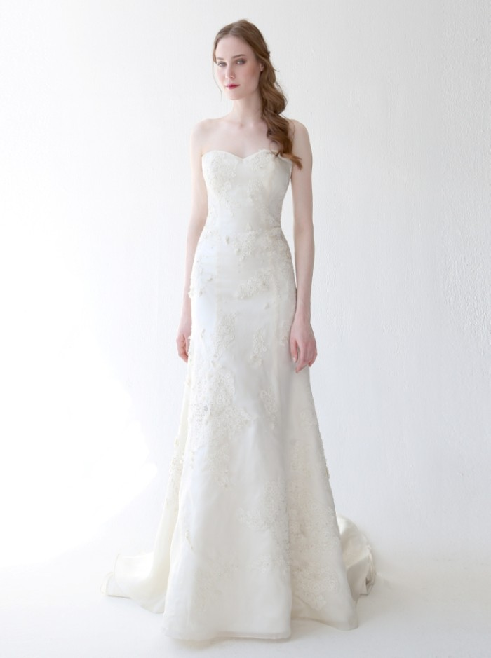 Beaded Wedding Dress Evlin by Kelly Faetanini