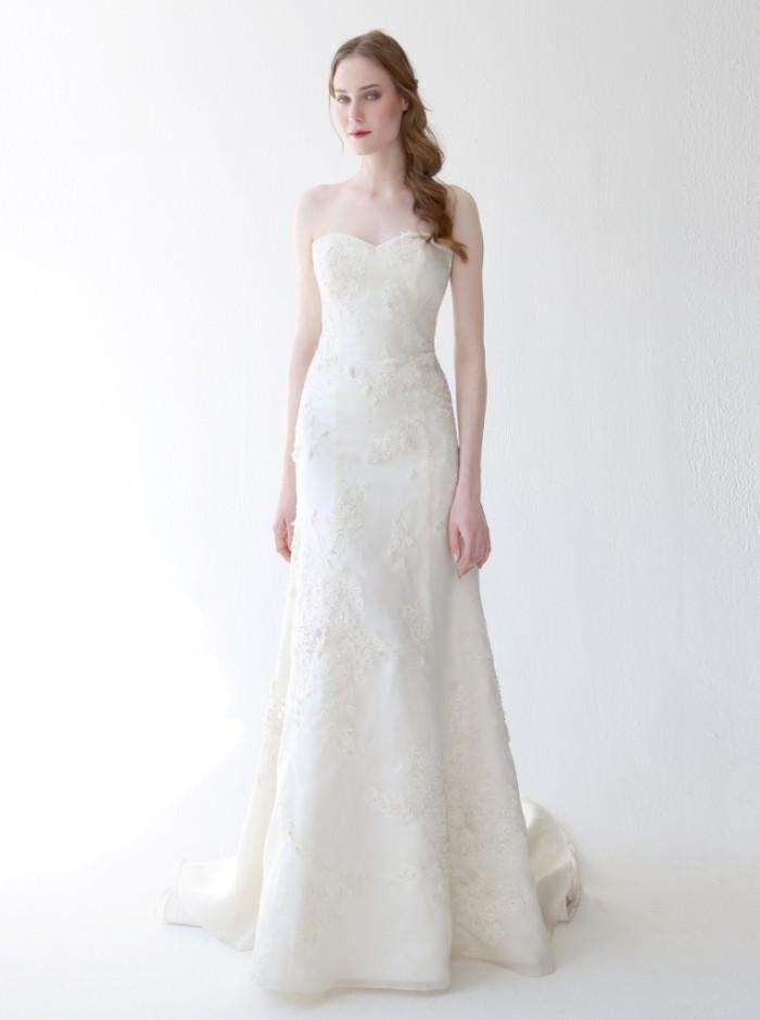 Beaded Wedding Dress Evlin by Kelly Faetanini