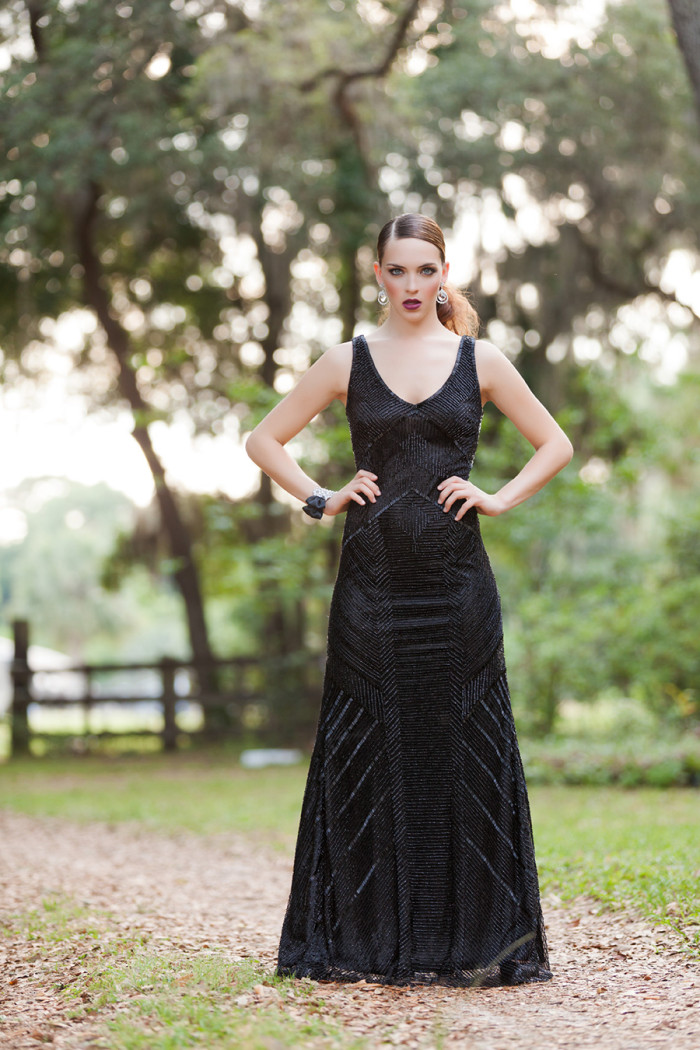 Black evening gown by http://solutionsbridal.com/ | Photography by Betsy Hansen of Hundreds of Moments