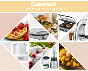 Summer Giveaway from Cuisinart and BridalPulse!