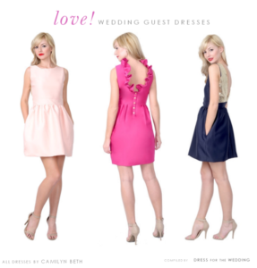 Cute Dresses for Weddings!