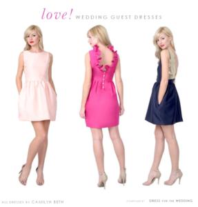 Cute Dresses for Weddings!