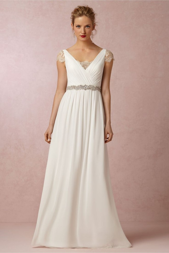 New wedding dresses and bridesmaid dresses at bhldn for Anthropologie beholden wedding dress