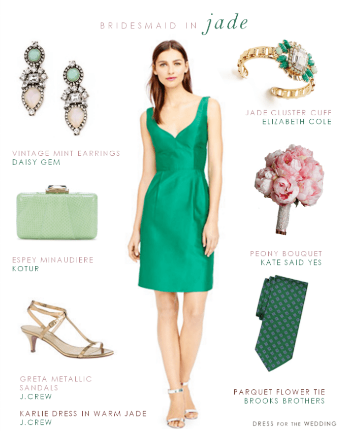 Jade Green Bridesmaid Dress