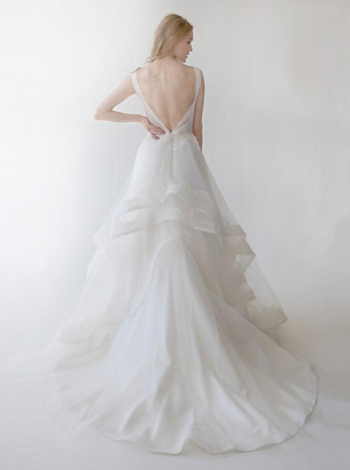 Wedding Dress Ula-back by Kelly Faetanini