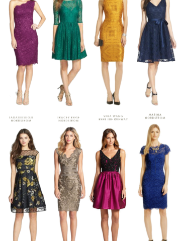 Semi Formal Fall Wedding Guest Dresses