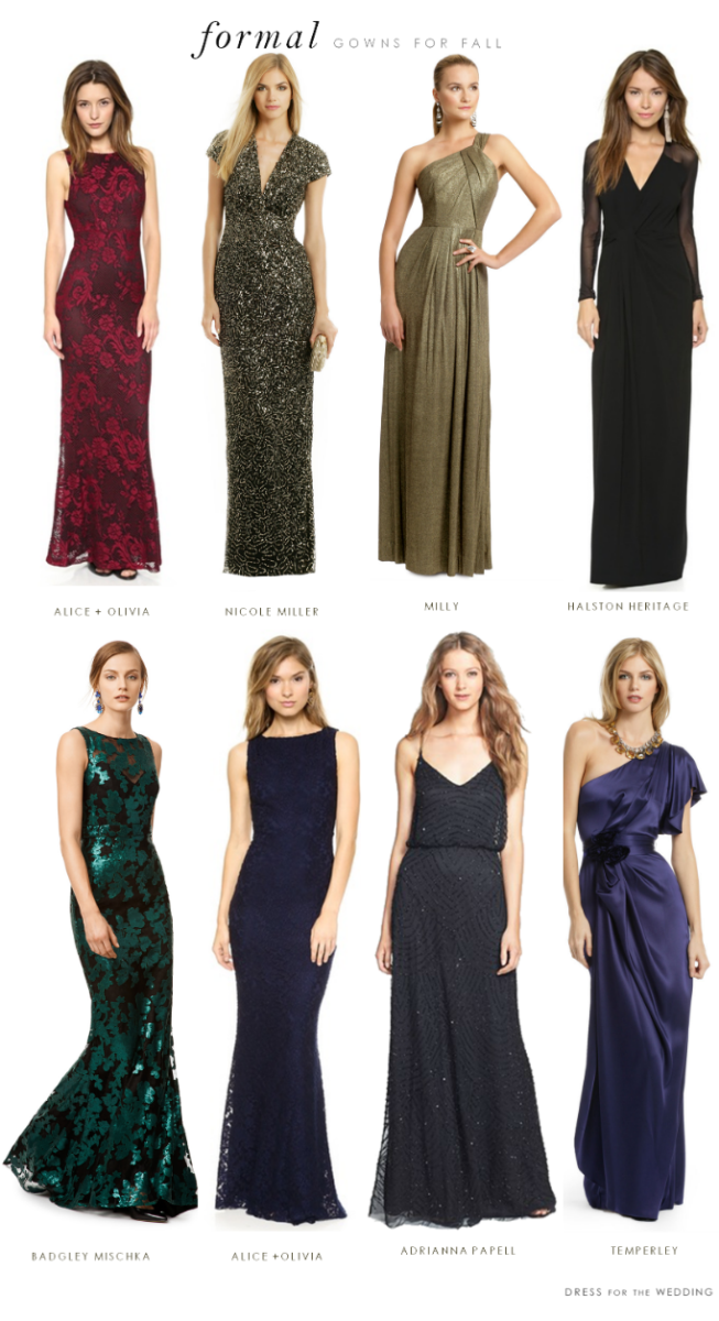 What to wear to a formal black tie wedding for Cocktail dresses to wear to a wedding