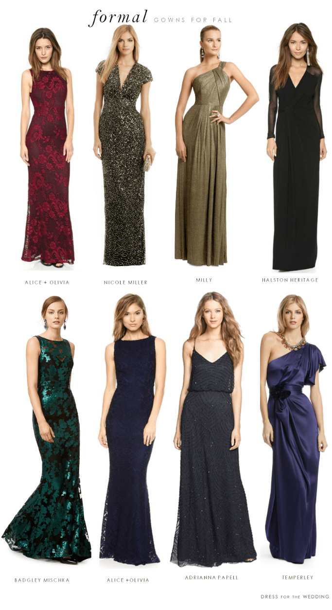 Ideas Dresses To Wear To An Evening Wedding what to wear a formal black tie wedding