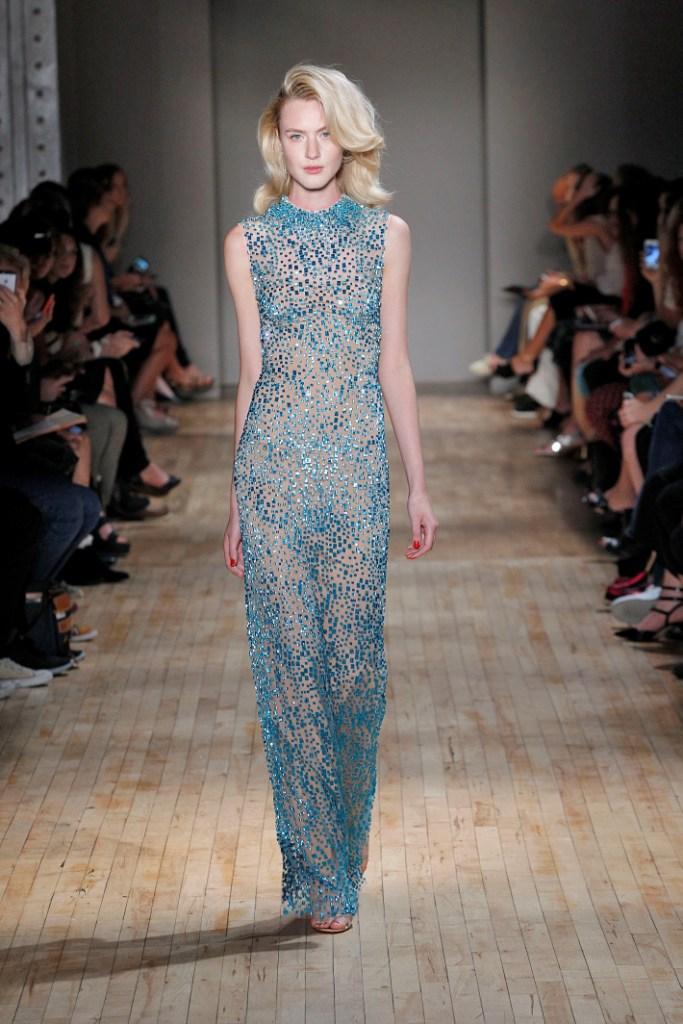 Jenny Packham New York Fashion Week  Spring Summer 15 New York September 2014
