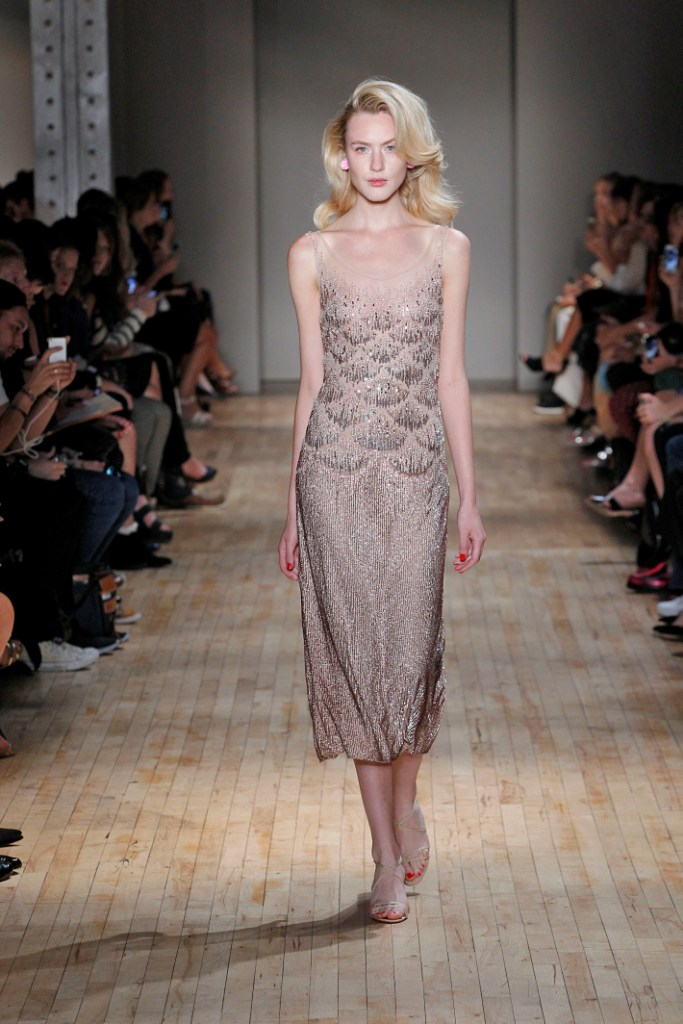 Jenny PackhamNew York Fashion Week  Spring Summer 15 New York September 2014
