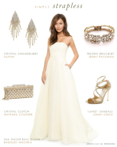 Relaxed Bridal Style: Wedding Dress with Pockets