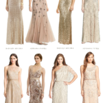 sequined and beaded dresses