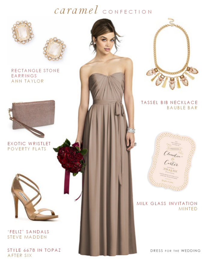 What Color Shoes Go With A Taupe Dress