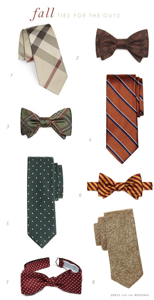 fall ties