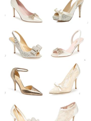 8 picks for kate spade new york wedding shoes