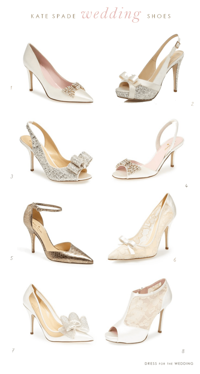 8 of my favorite kate spade new york wedding shoes junglespirit Images
