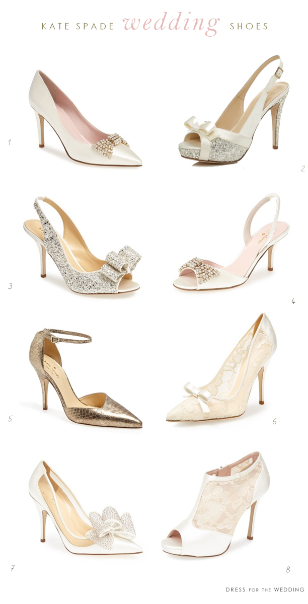 8 of my favorite kate spade new york wedding shoes my favorite kate spade new york wedding shoes junglespirit Images