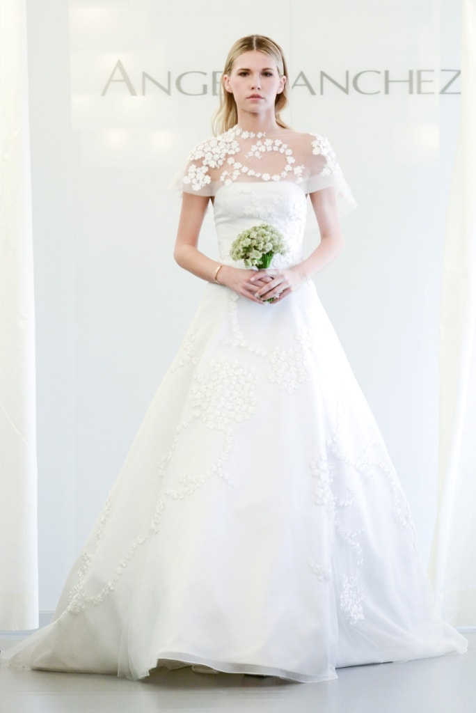 Angel sanchez wedding dresses fall 2015 for Wedding dresses for weddings