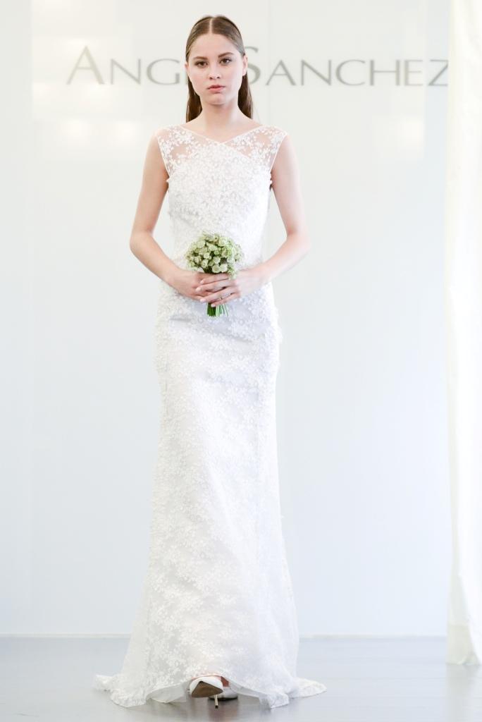 lace wedding dress 2015 Angel Sanchez