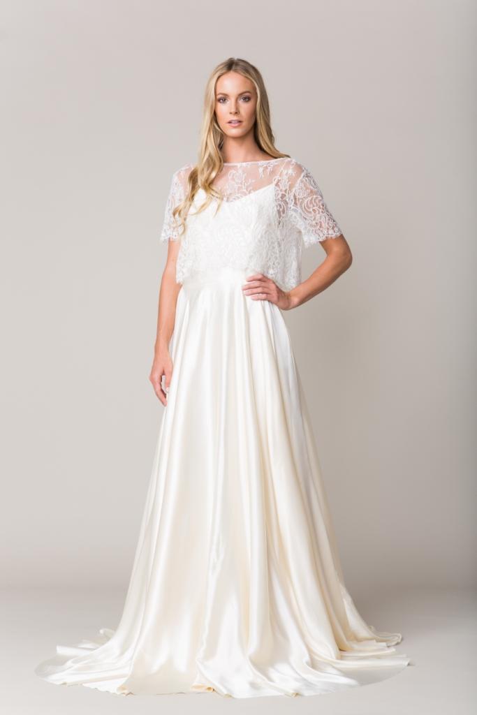 Sarah Seven Wedding Dresses | Avignon top