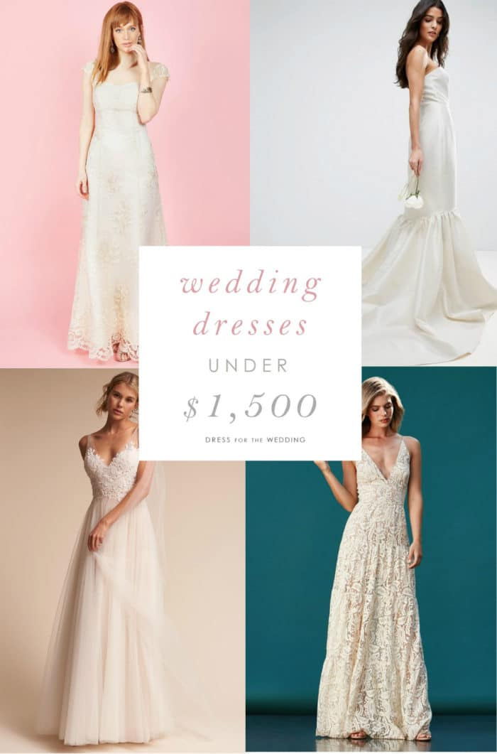 Wedding Dresses Under 1 500