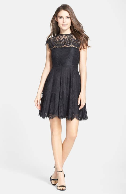 Cute black lace dress under 100 dollars