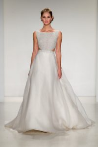 Greer beaded wedding dress