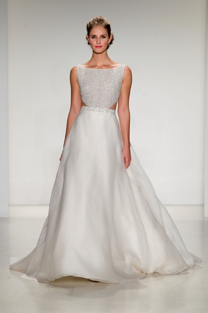 wedding dress of the day greer by anne barge