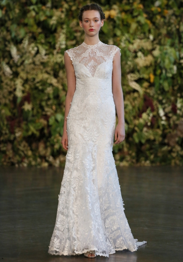 Jophiel a wedding gown by Claire Pettibone